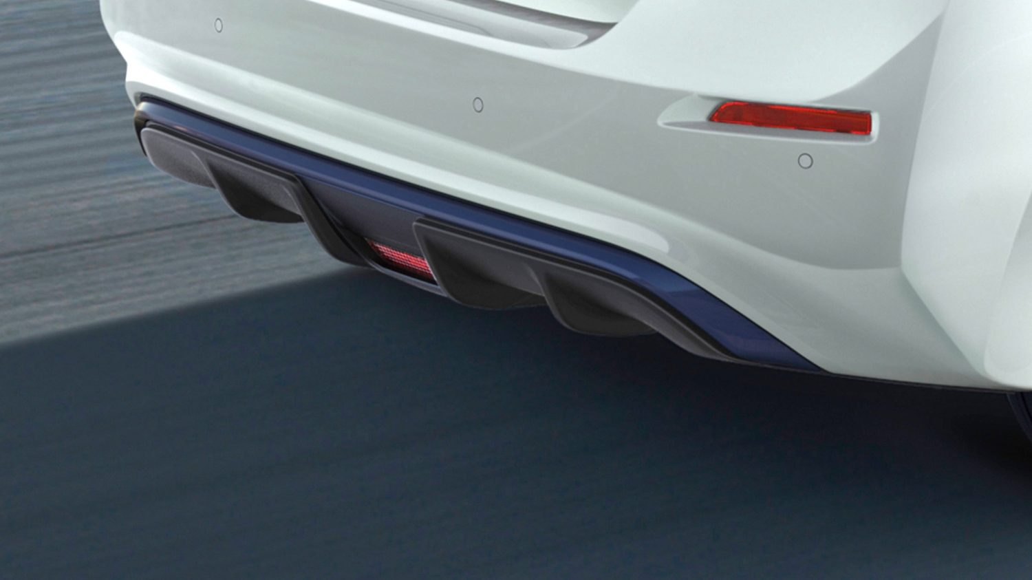 Nissan LEAF lower diffuser