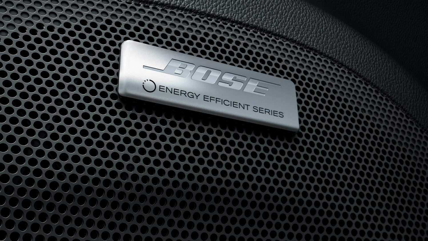 New Nissan LEAF bose audio speaker