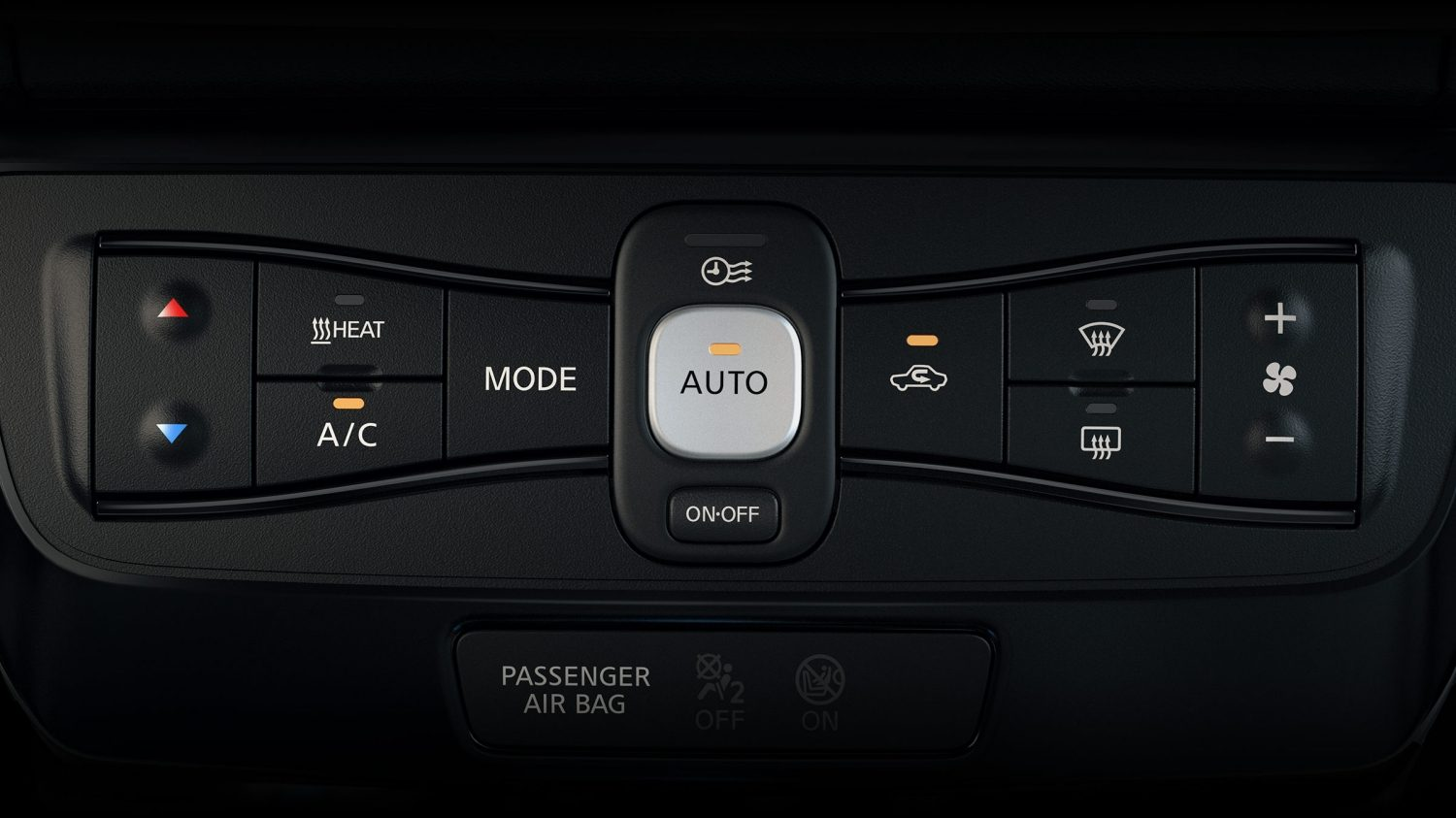 Nissan LEAF automatic climate control system
