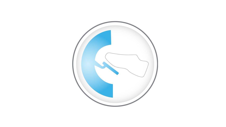 Približan prikaz e-Pedala v novem Nissan Leafu