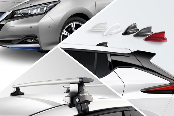 New Nissan Leaf accessories