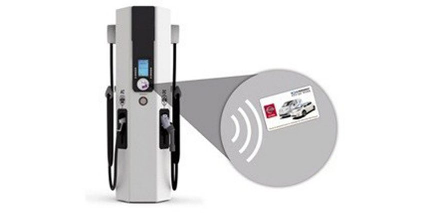New Nissan LEAF Quick Charging Station