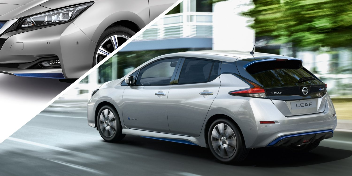 Nissan LEAF with dynamic pack