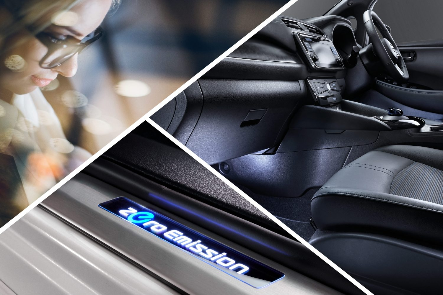 Accessories New Nissan LEAF - Interior, Exterior and Packs ...