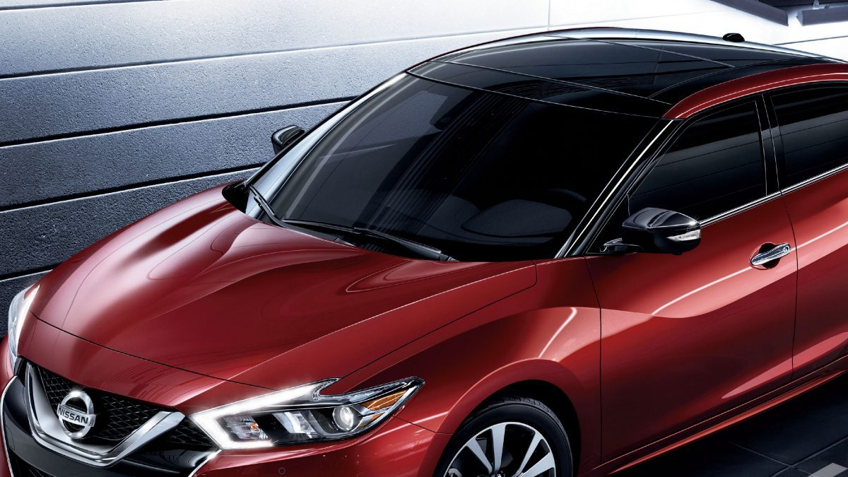 Nissan Maxima roof design
