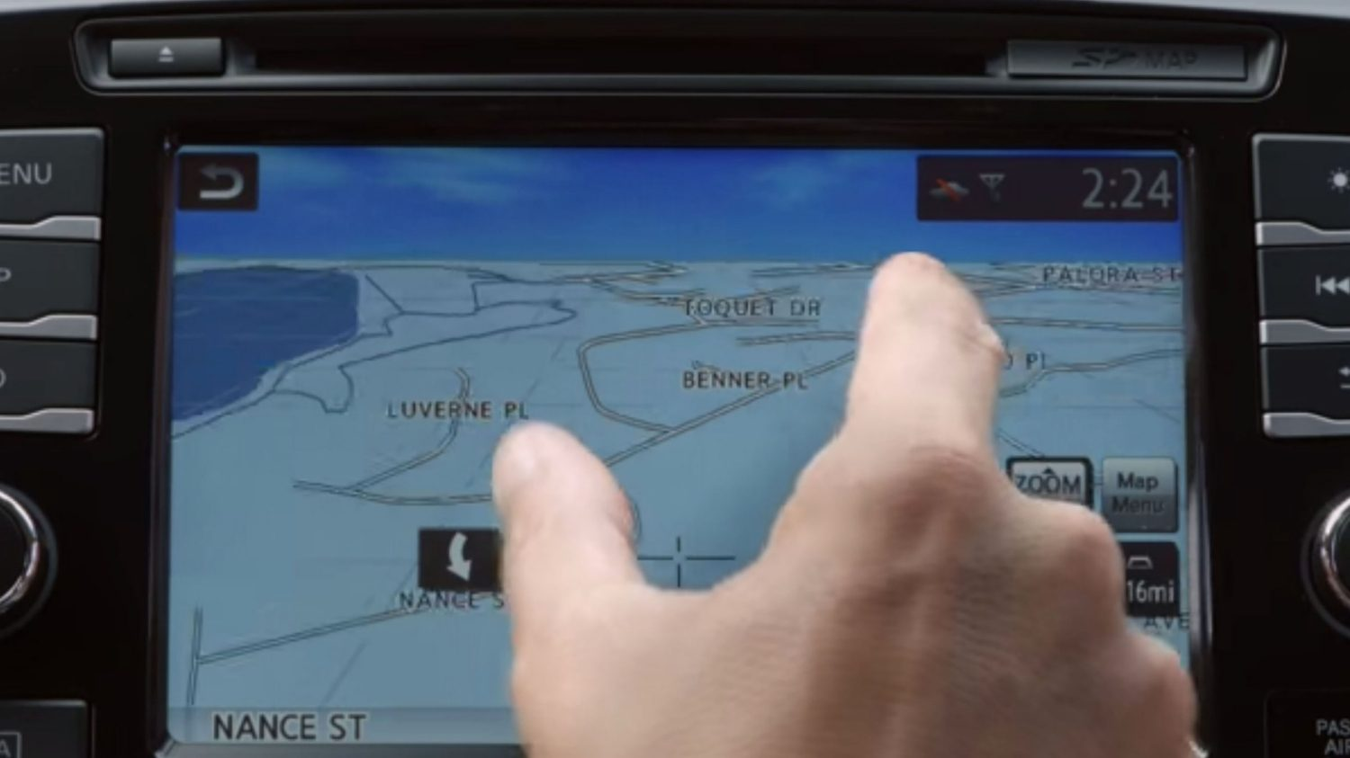 Multi-touch Screen Detail