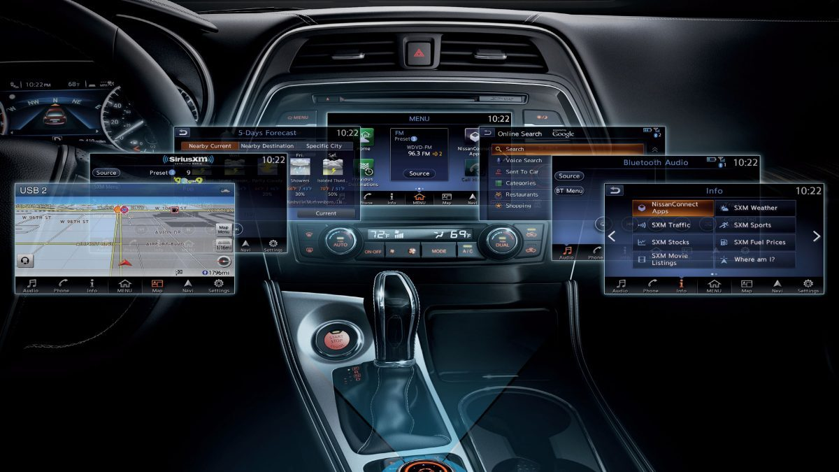 NissanConnect Screens