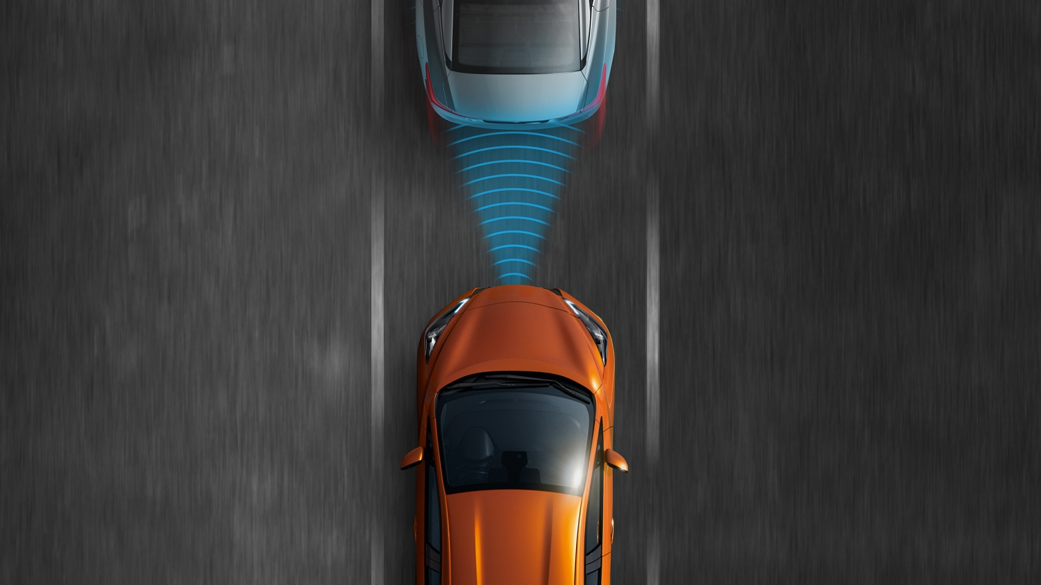 Nissan MICRA illustratie Intelligent Emergency Braking