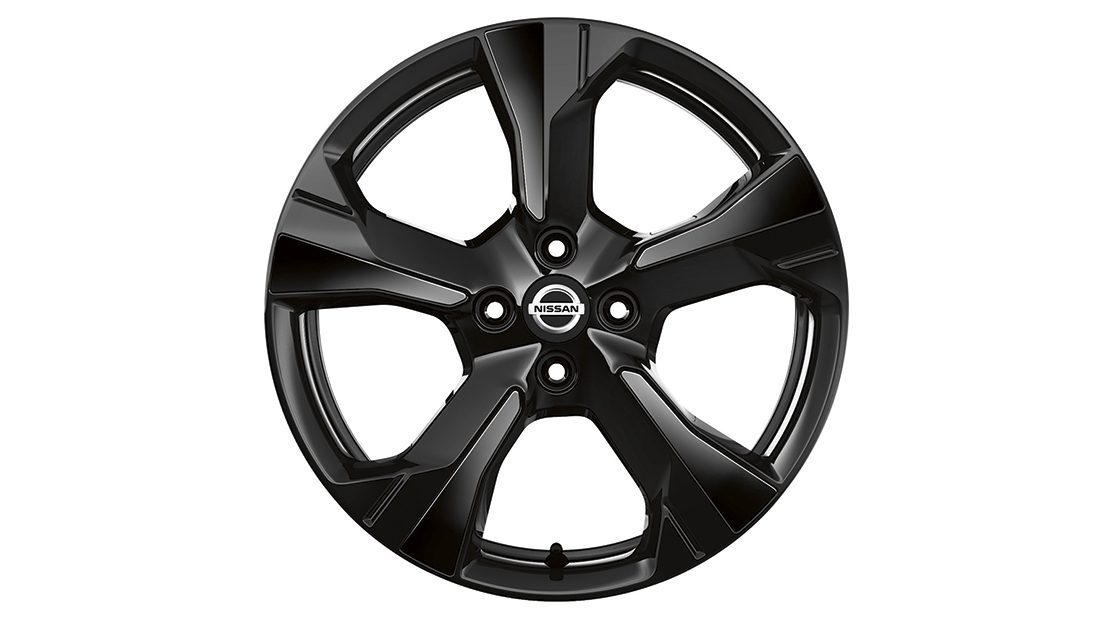 Nissan Micra Inserts for Xeno Wheel Enigma Black