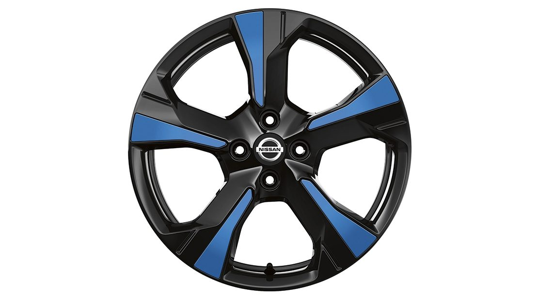 Inserções para jantes Xeno Power Blue do Nissan MICRA