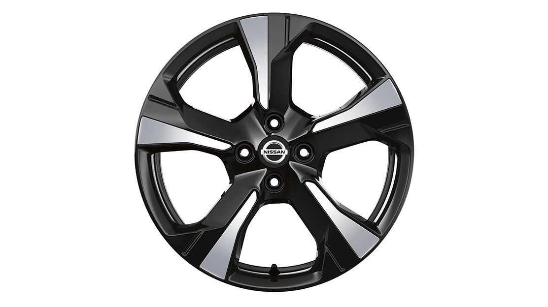 Nissan Micra Inserts for Xeno Wheel Vibrant Chrome