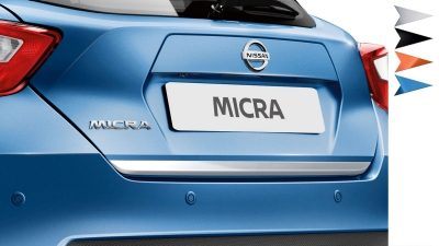 Nissan MICRA Design Studio – list for bagasjeluke
