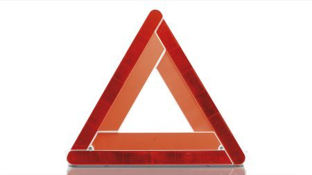 Nissan Micra Safety Warning Triangle