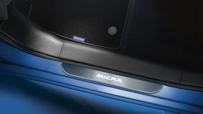 Nissan Micra Door Entry Guard Illuminated and Wireless