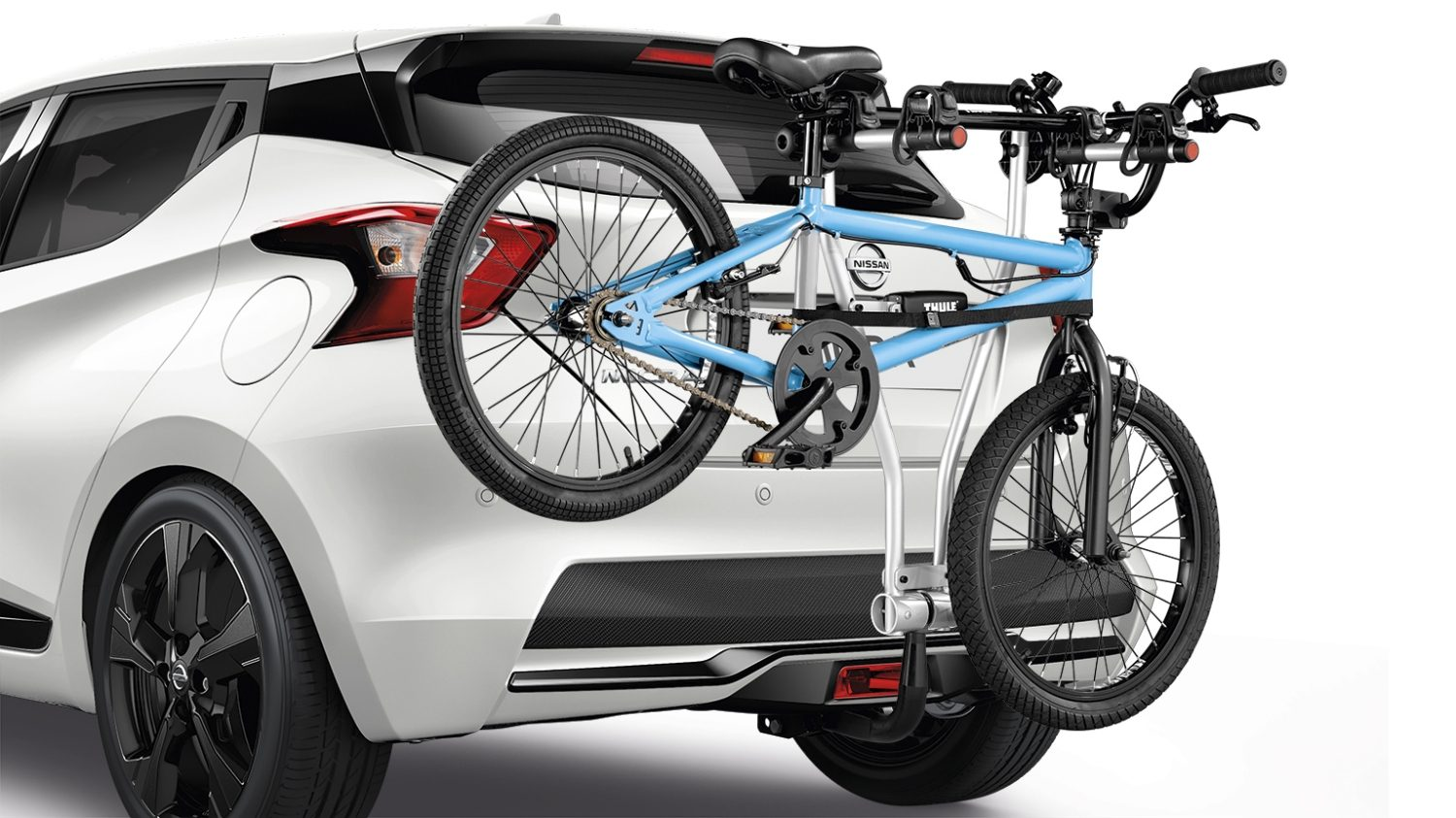 Nissan Micra Bike Carrier Foldable 2 Bikes