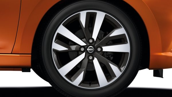 "Micra 17"" Alloy Wheel"