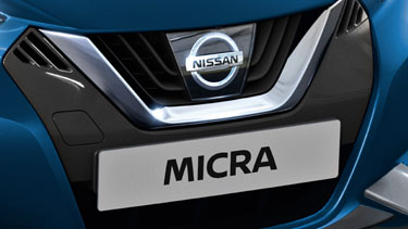 Grelha V-Motion do Nissan MICRA