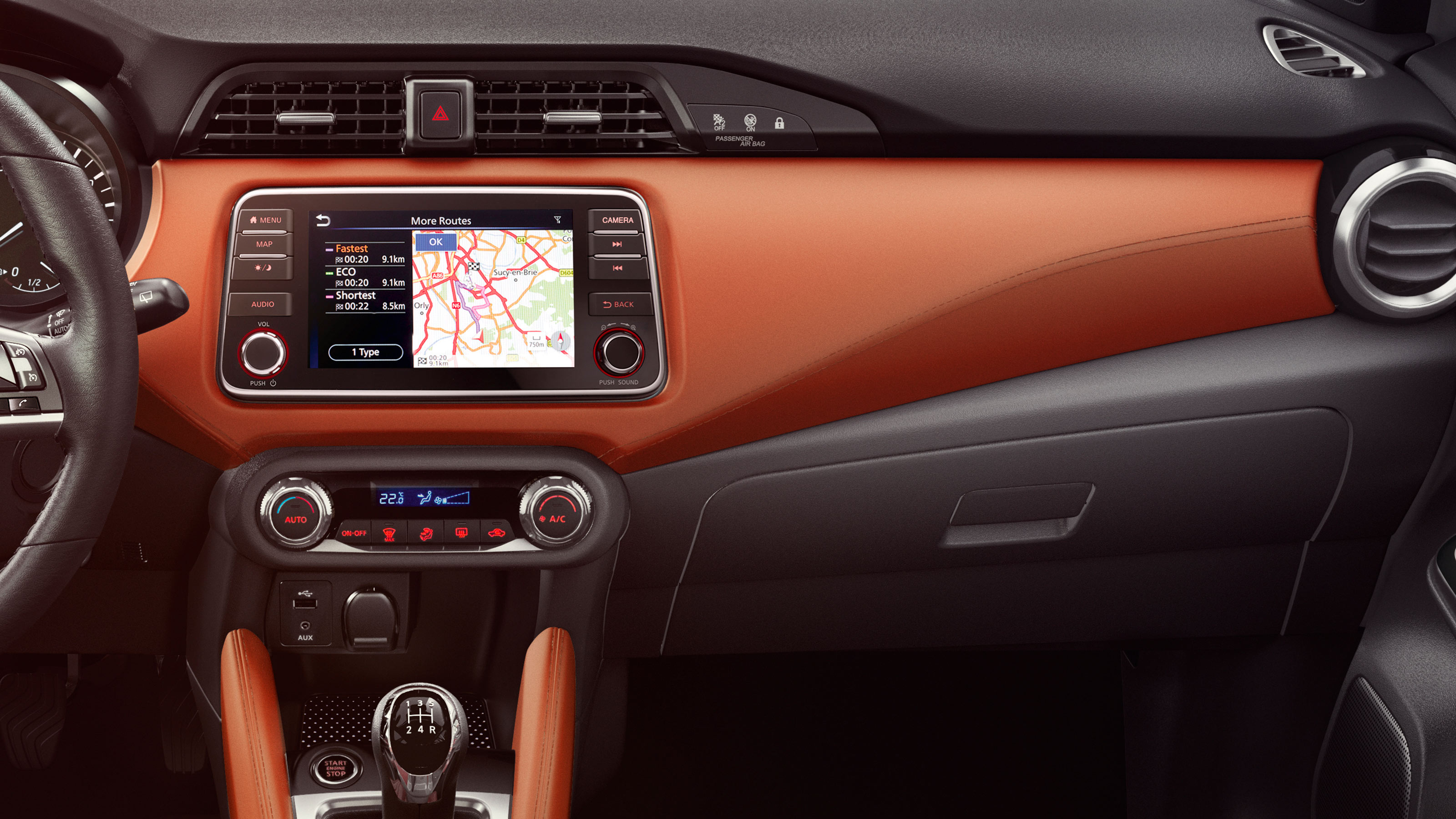 Nissan Micra Soft-Touch Dash Wrapping