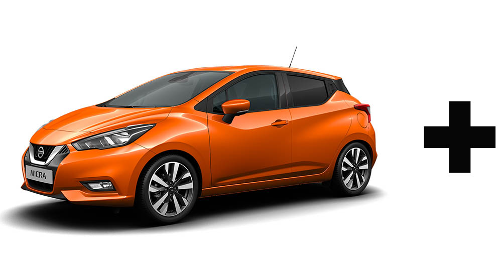 Nissan Micra Colour Choices