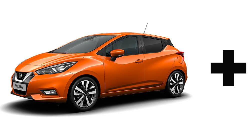 Nissan micra colours