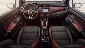NISSAN MICRA Innenraum-Paket in Invigorating Red