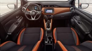 Nissan Micra Interior Pack Energy Orange