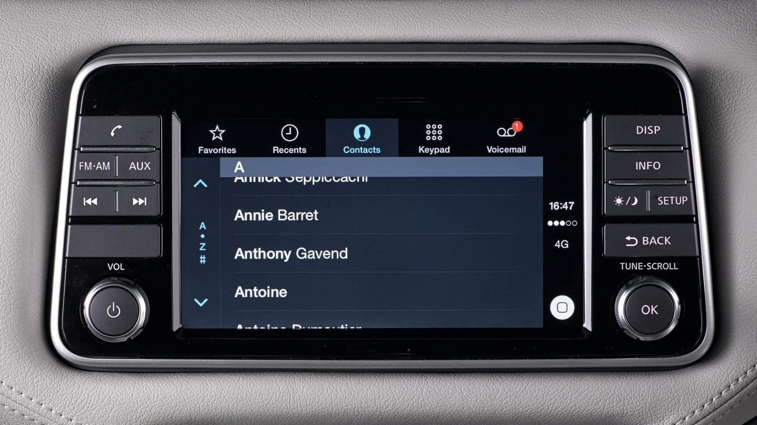 Micra Apple Carplay Contact Inventory