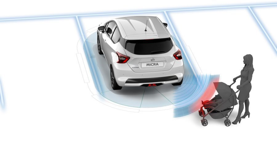 Micra Technology Moving Object Detection