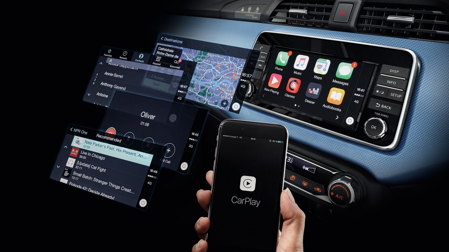 Micra Apple Carplay