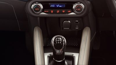 Nissan Micra USB port and Phone Holder