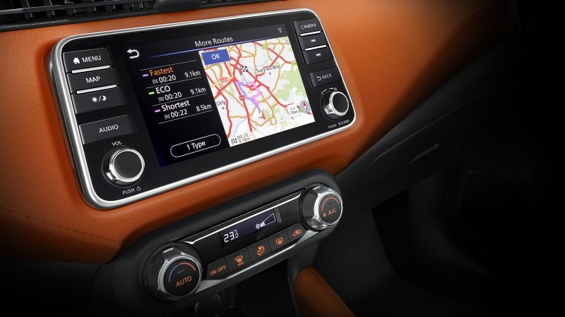Nissan Micra Apple CarPlay Screen