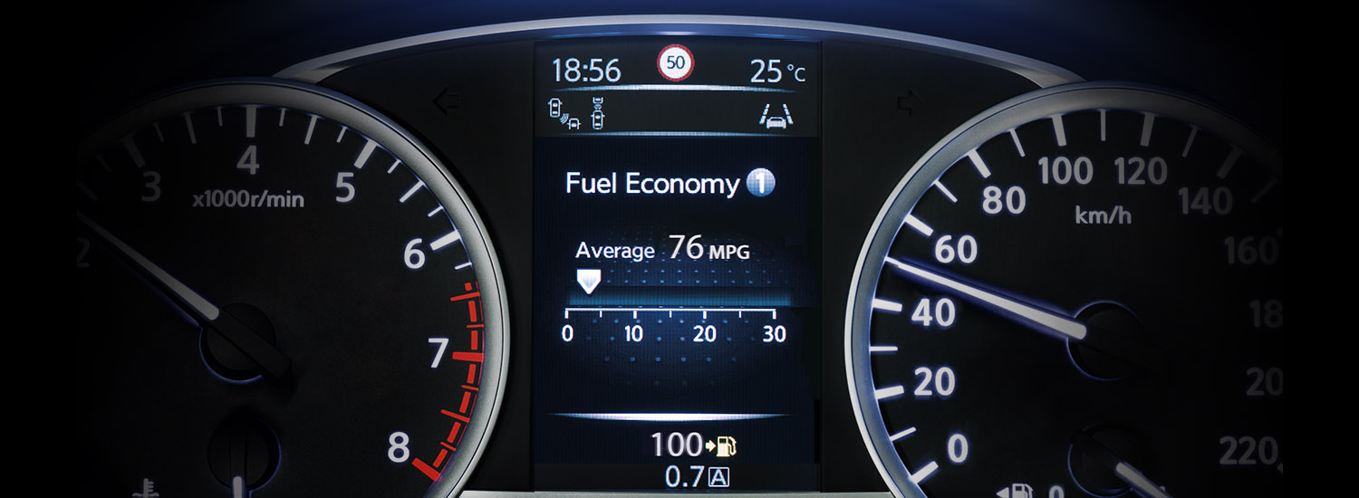 Nissan Micra Advanced Driver Assist Display