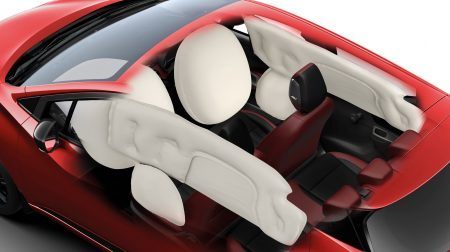 Nissan Micra interior with 6 Airbags