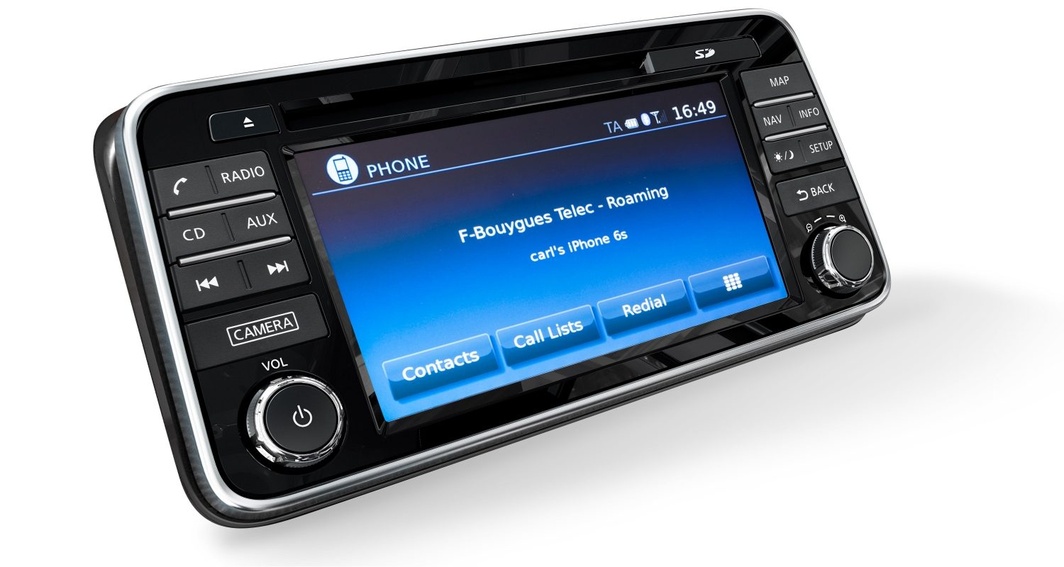 Micra NissanConnect Caller ID Screen