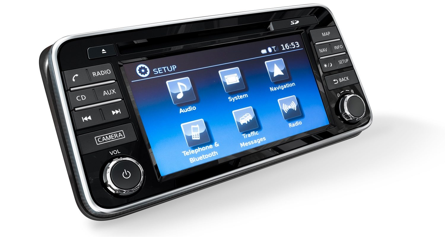 Micra NissanConnect Audio System Screen