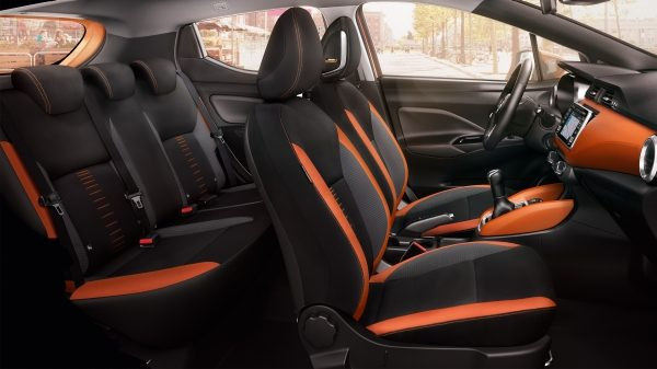 Micra Large Profile Interior Energy Orange