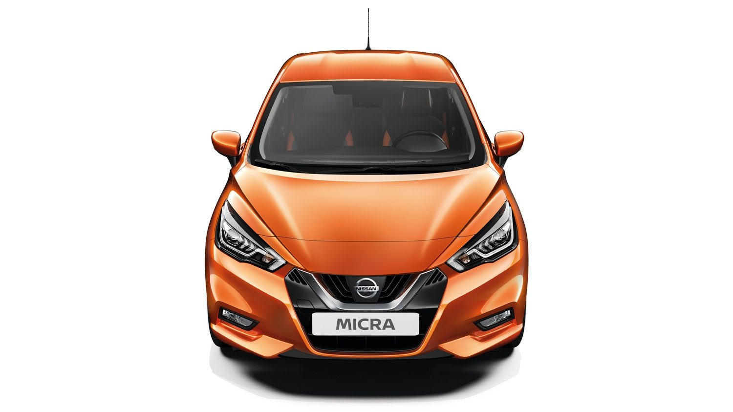 Nissan Micra full front high