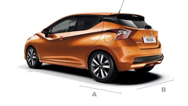 Nissan Micra dimensions