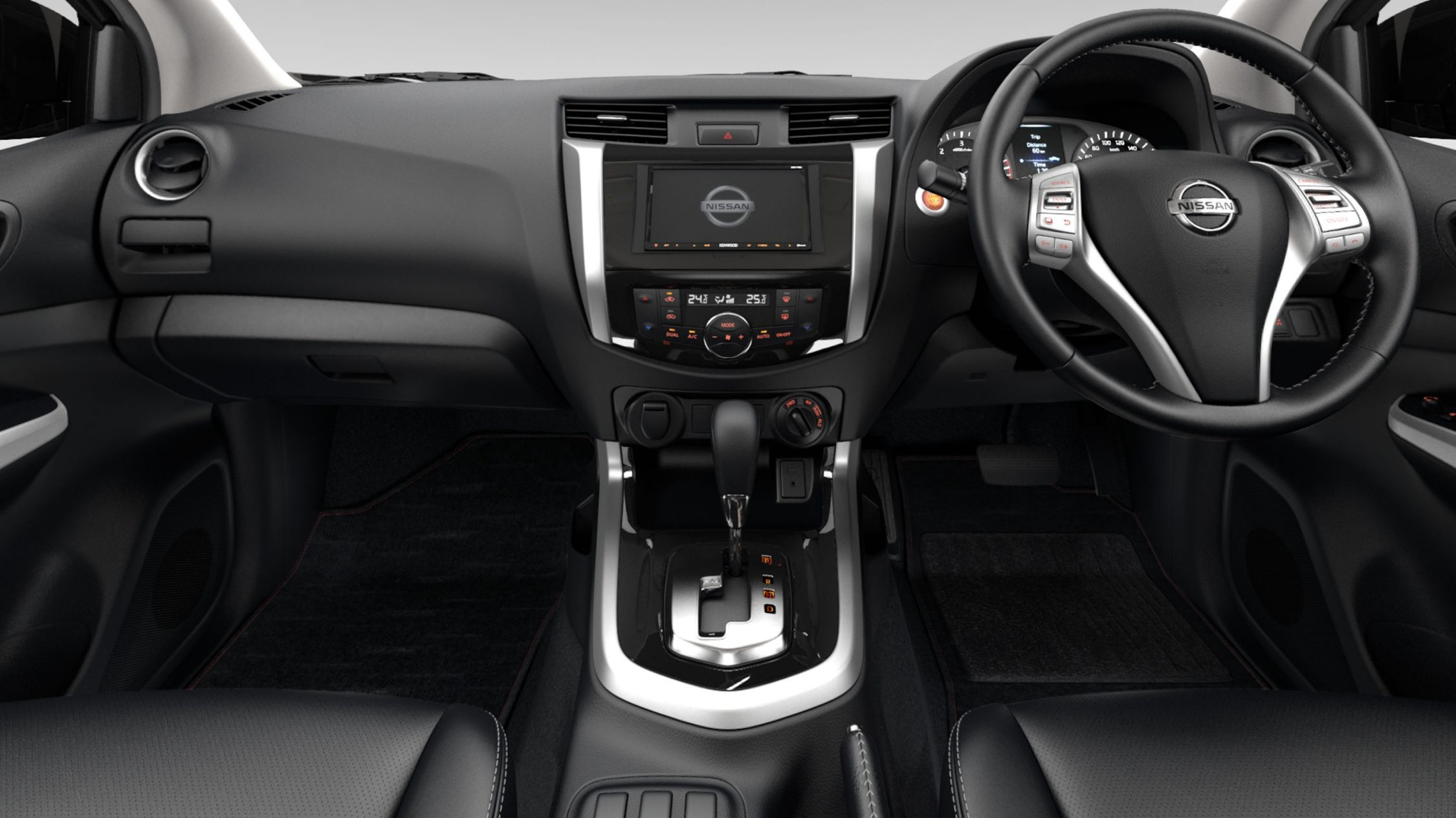 Nissan Navara dashboard detail