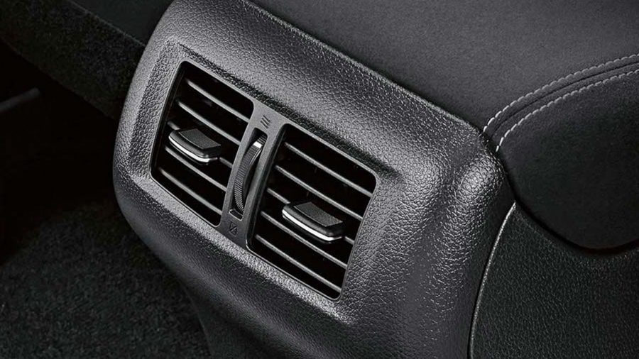 Rear Air Conditioning Vents