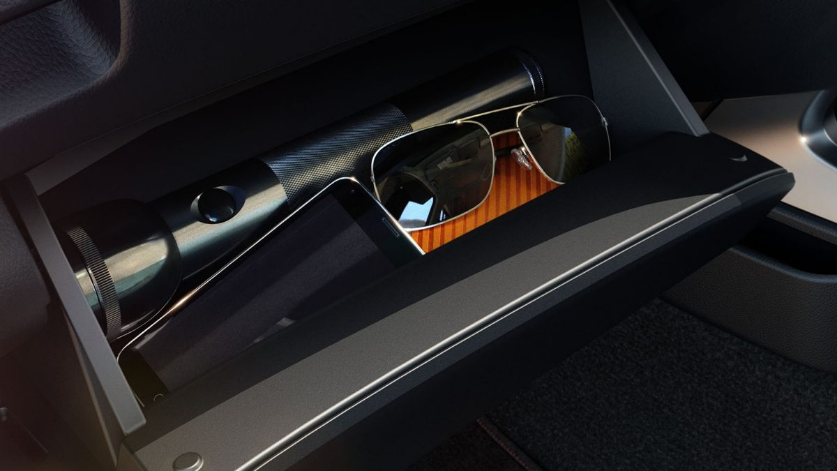 Navara D23 Glove compartment