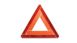 Nissan NV300 - Warning triangle