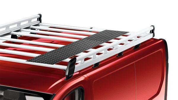 Nissan NV300 - Aluminium roof rack and steel walkway