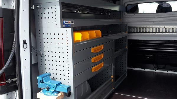 NV300 CONVERSIONS - STOREVAN LEFT HAND SHELF