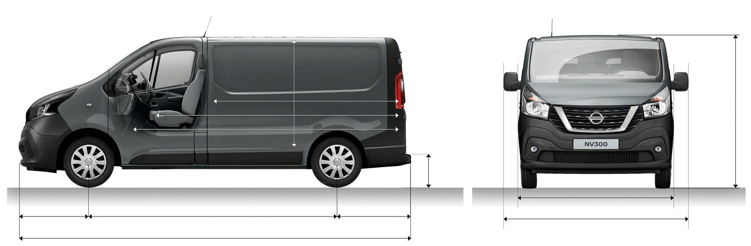 NV300 PANEL VAN L1H1 PROFILE + FRONT