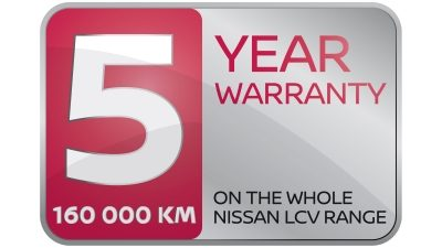 NISSAN 5 YEAR WARRANTY