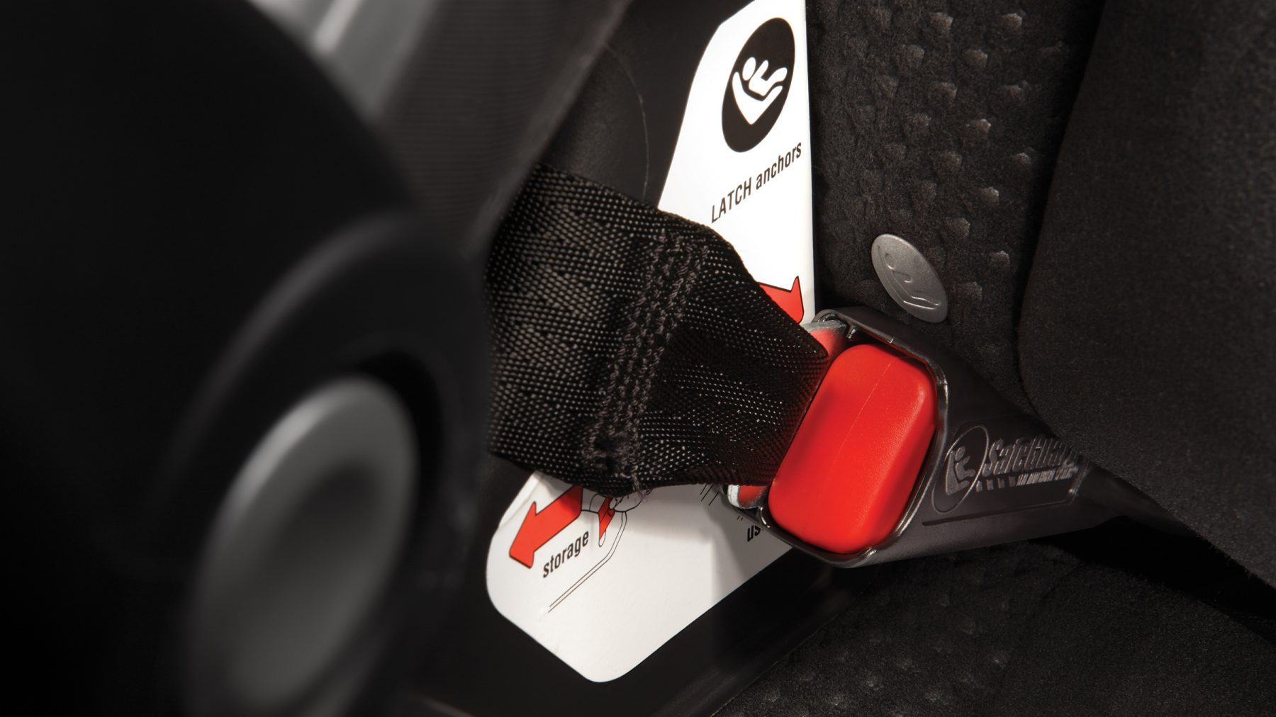 ISOFIX child safety seat system