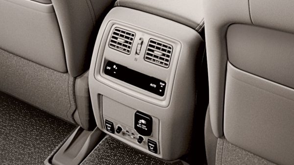 Rear Air Conditioning and Heater