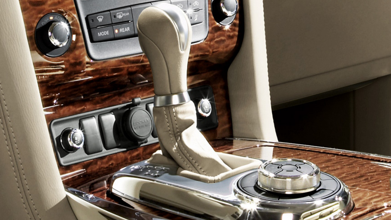 7-Speed Automatic Transmission Shifter