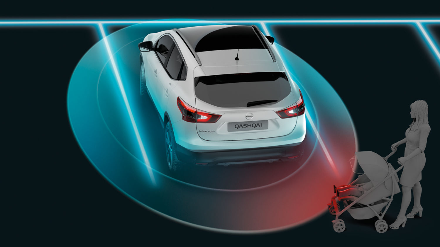 Nissan Qashqai - Moving Object Detection